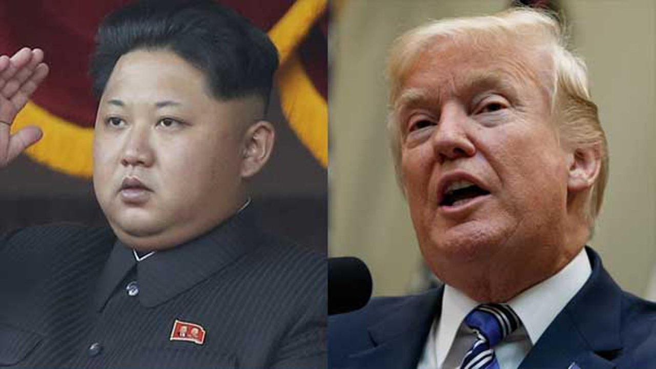 North Koreas Kim Jong Un and U.S. President Donald Trump.