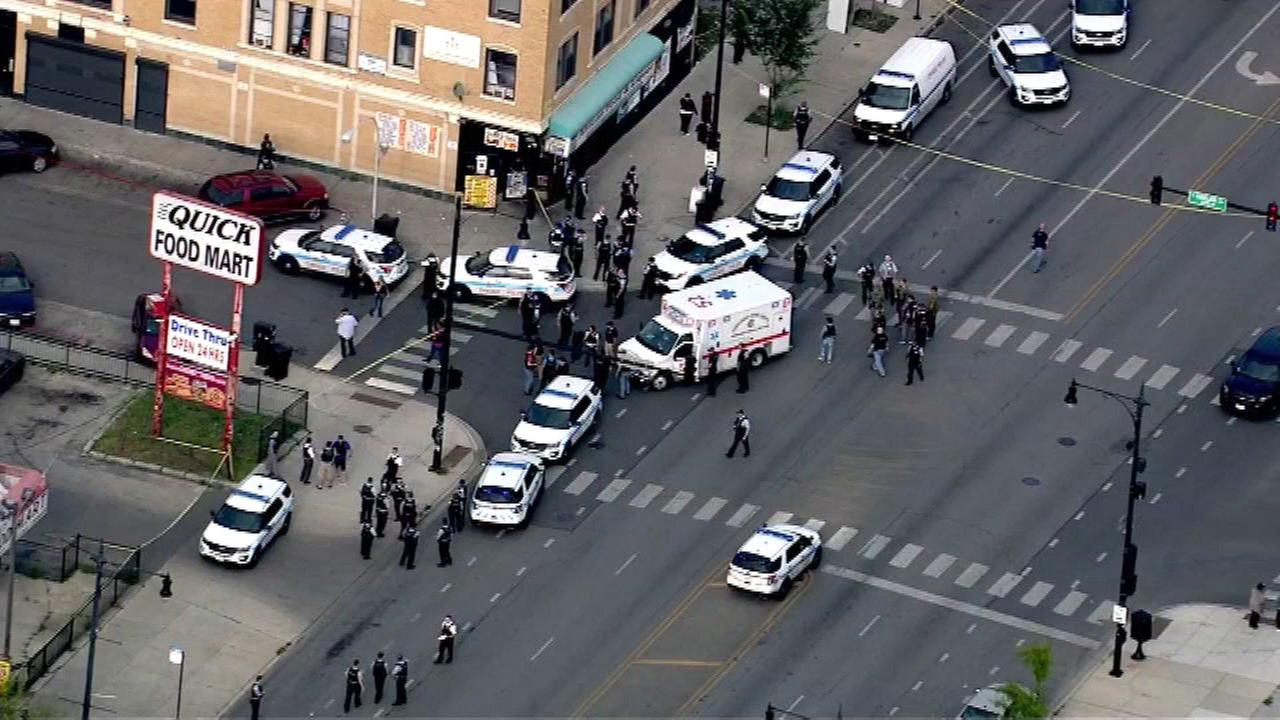 Police-involved shooting reported in West Garfield Park