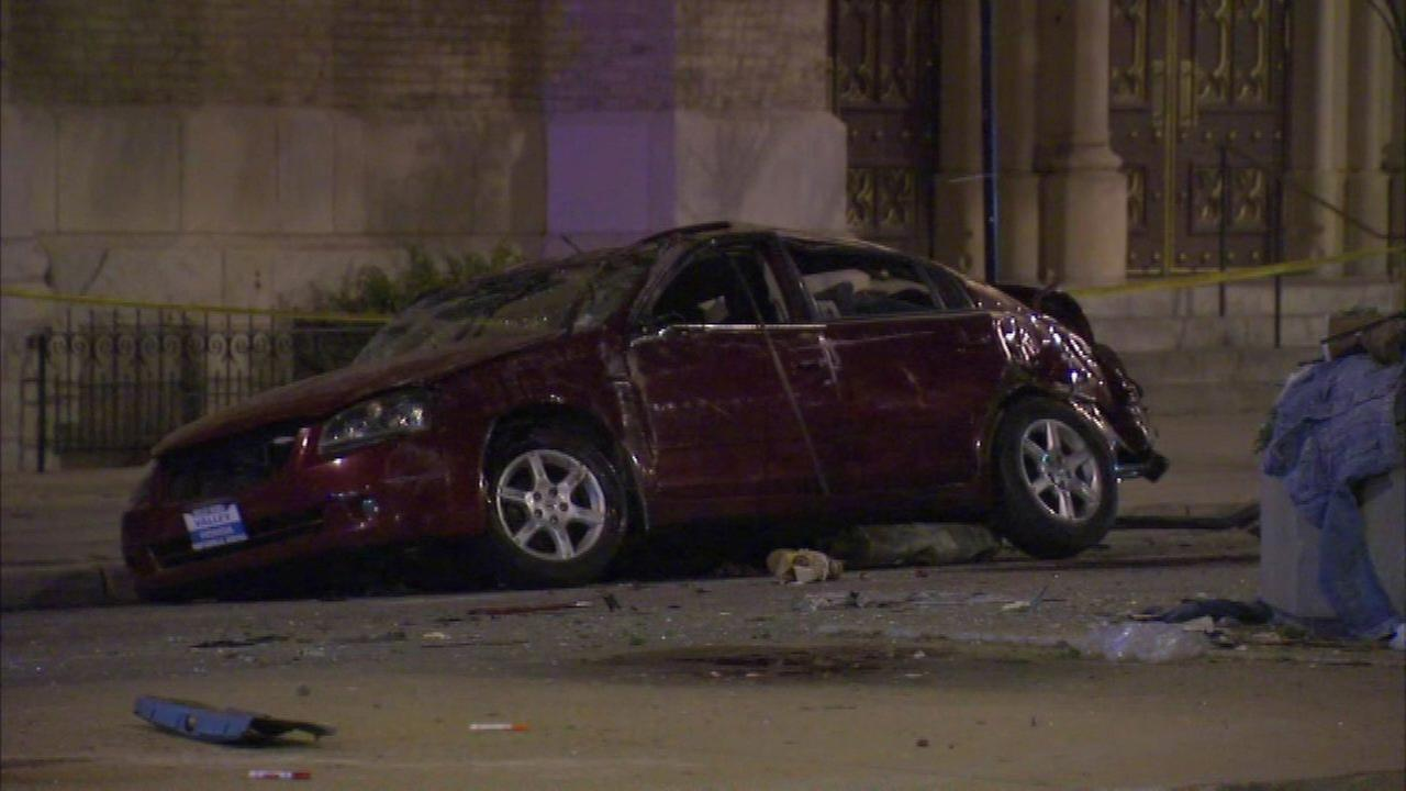 One person was killed in the crash in the 1000-block of West Roosevelt, police said.