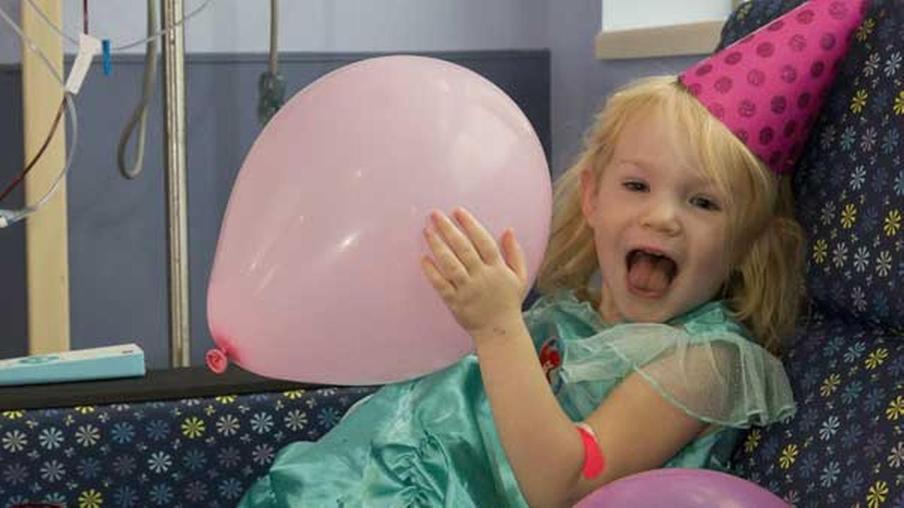 When Hurricane Irma threatened to ruin Willow Stines third birthday party, hospital staff in St. Petersburg, Florida, came to the rescue.Johns Hopkins All Children's Hospital