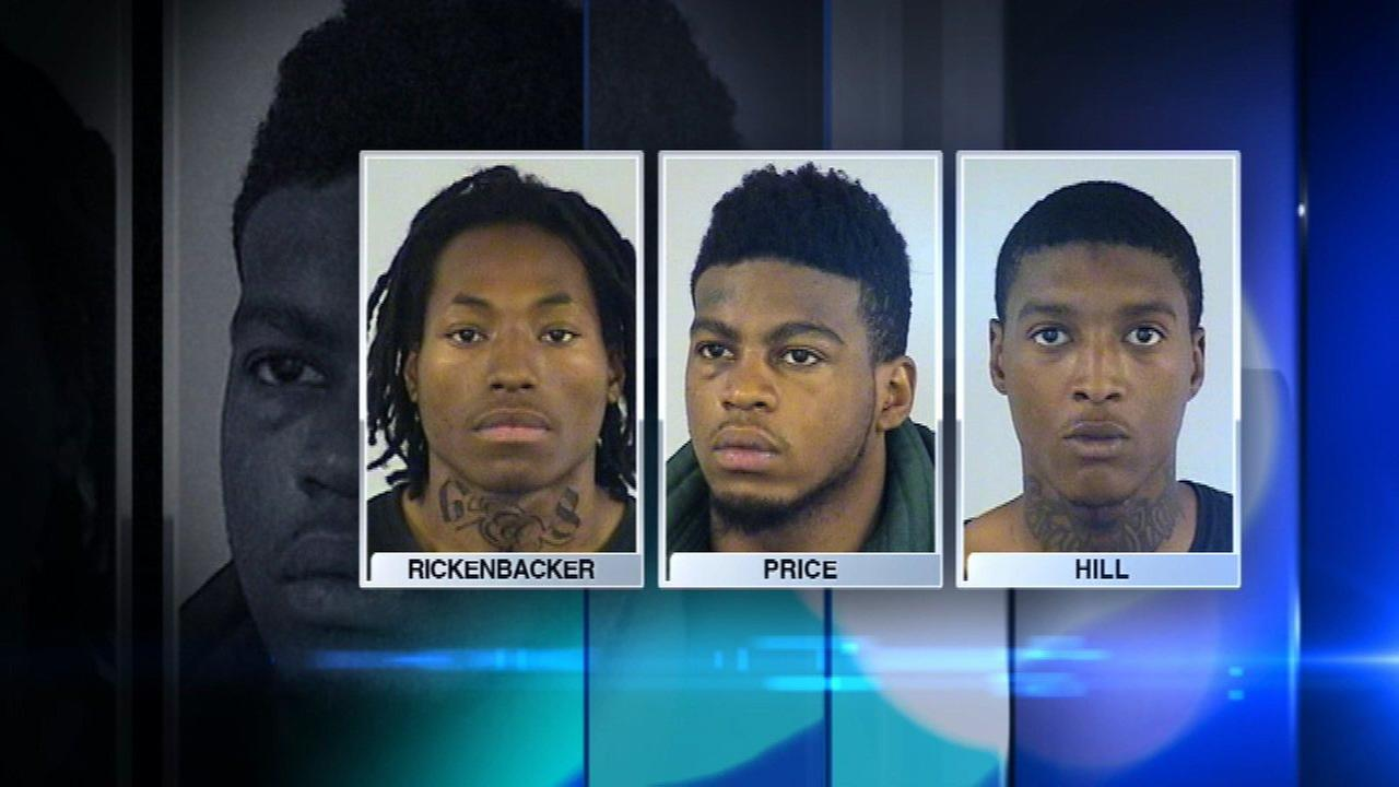 In one of the worst-planned getaways in criminal history, three Chicago men suspected of robbing a Verizon store were captured trying to hide in a north suburban police station.