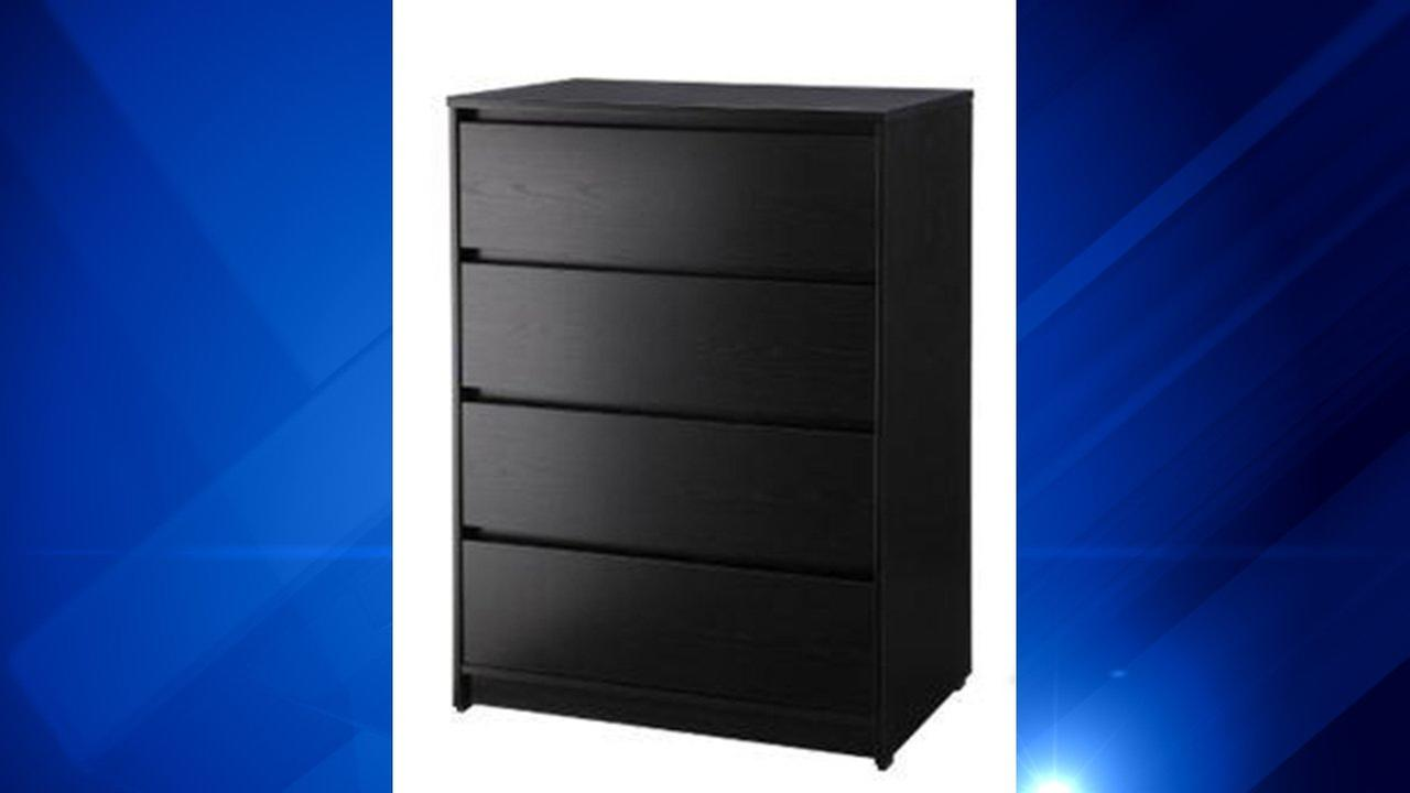 Target Recalls Dresser for Tip-Over Hazard