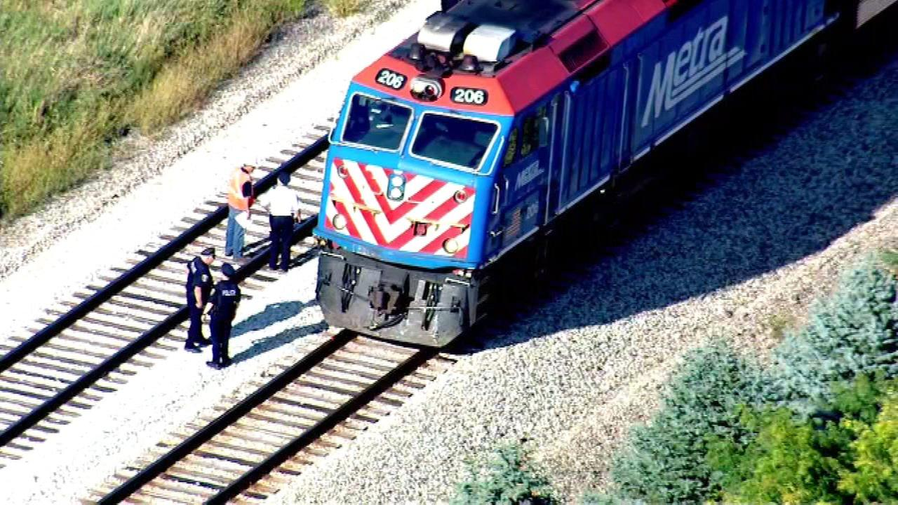 Metra Rock Island line moving with delays after pedestrian struck near Mokena