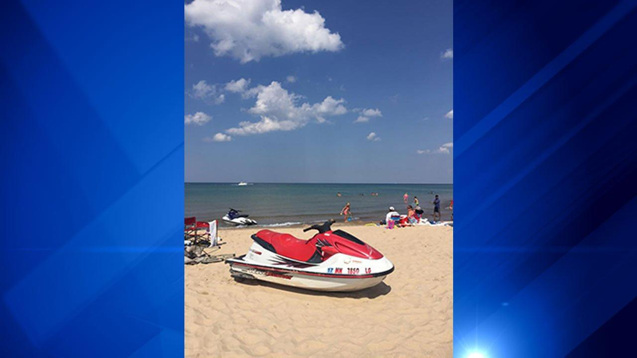 Police: 5-year-old boy crashes Jet Ski into beach, hits woman