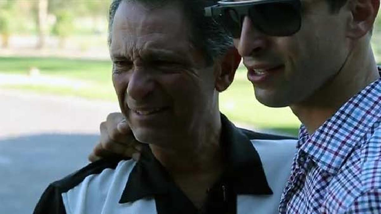 Son surprises dad with 1953 Hudson Hornet