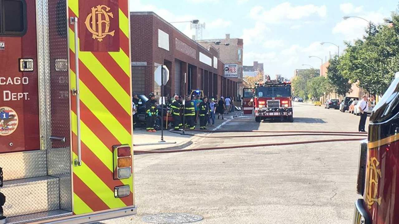 Goose Island Brewery evacuated due to hazmat incident