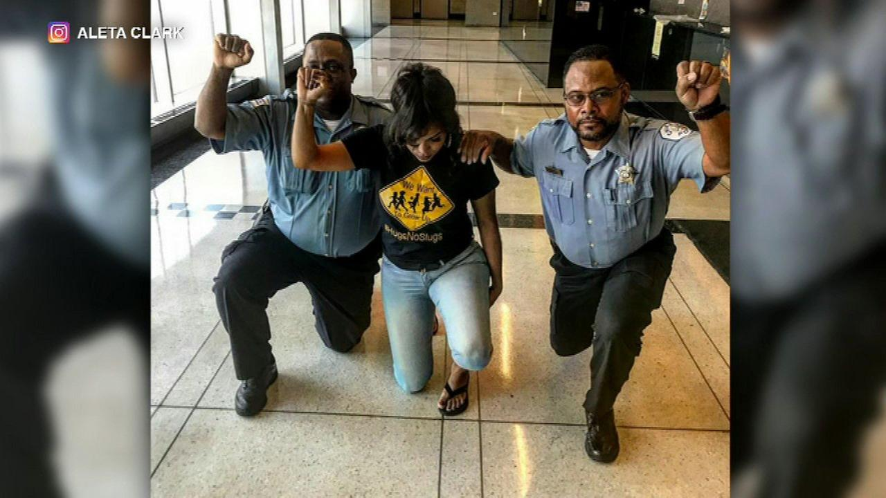 2 Chicago cops face discipline for taking a knee