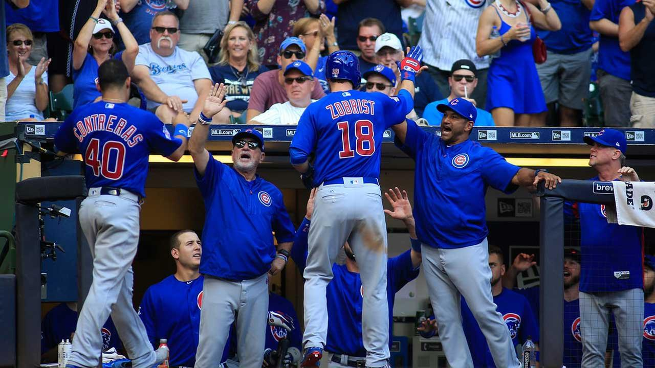 Chicago Cubs look to clinch division title