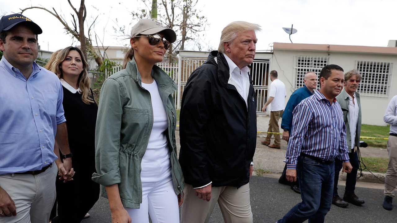 Trump contrasts Puerto Rico death toll to a real catastrophe like Katrina