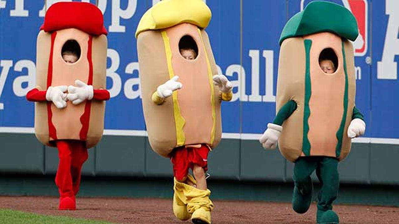 hot dog derby, mustard, kc royals