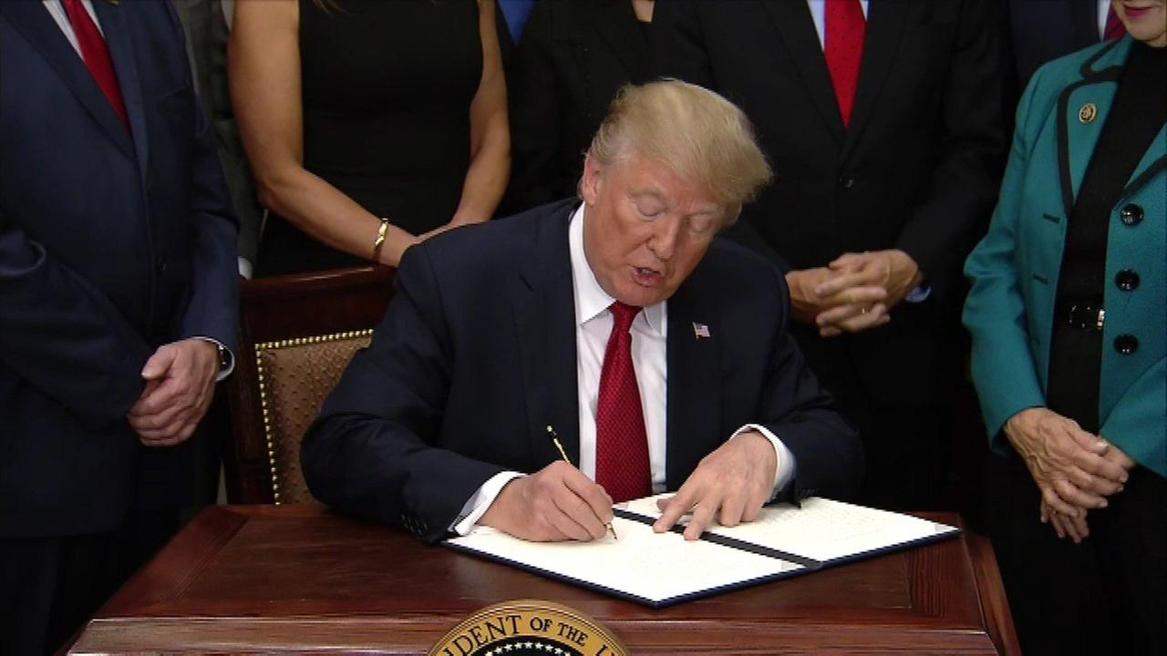 Trump signs health care executive order, calling it a beginning