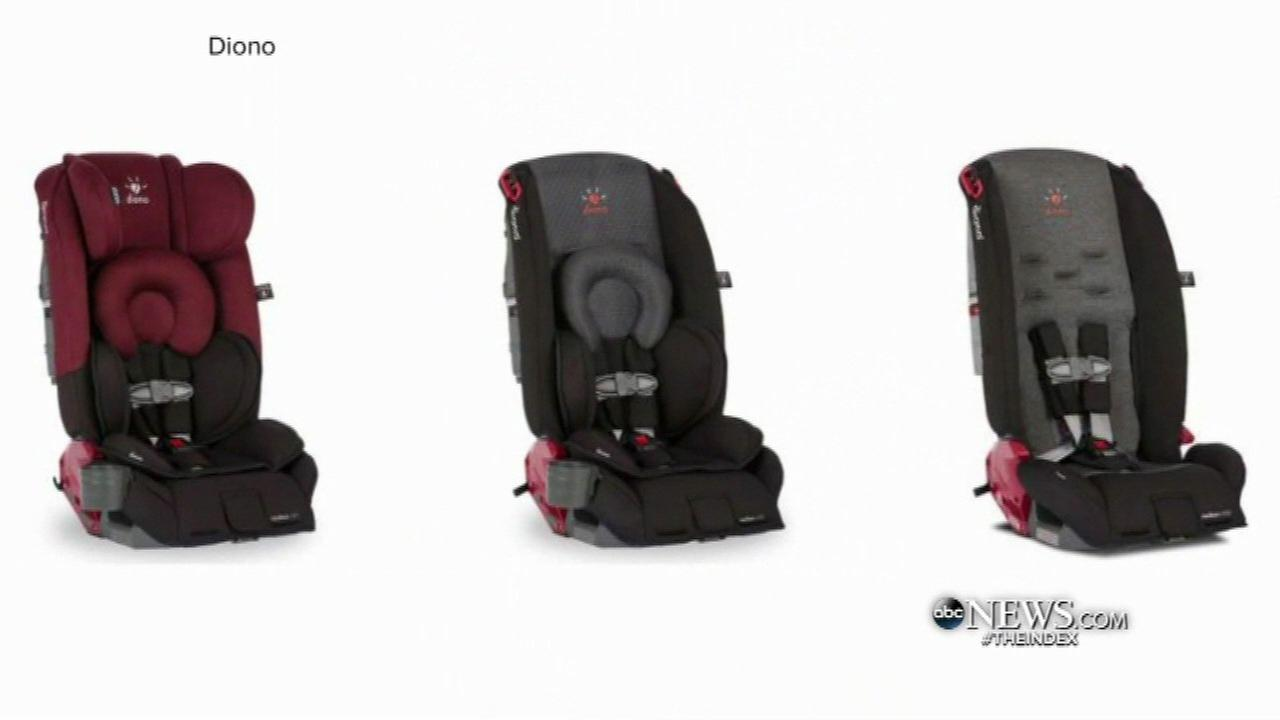 Diono car seats recalled; may not protect kids in crash