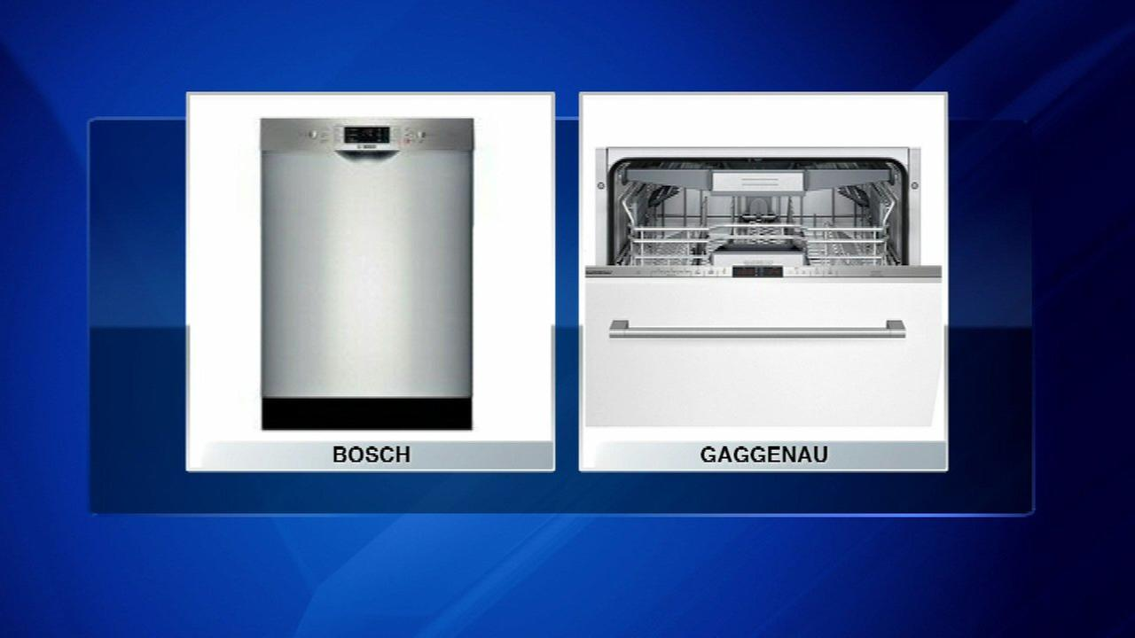 Dishwashers recalled due to risk of fire