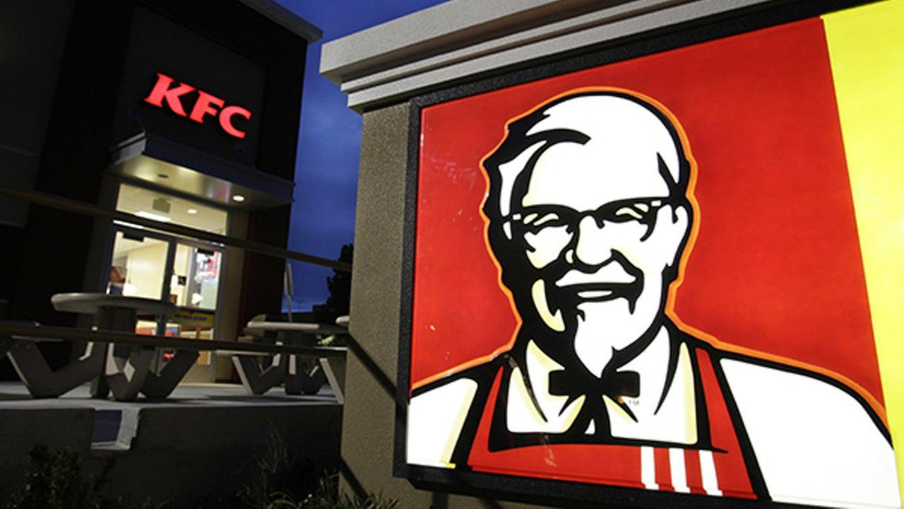 This April 18, 2011, file photo shows a KFC restaurant in Mountain View, Calif.
