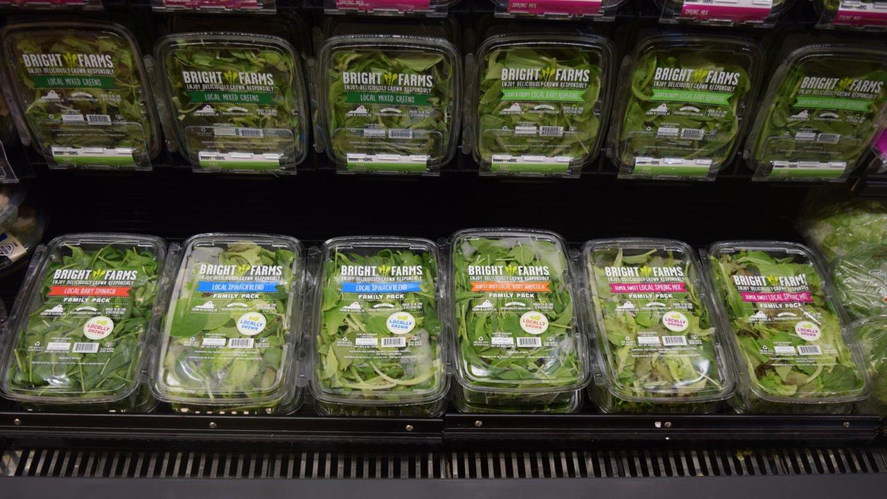 BrightFarms salad greens.
