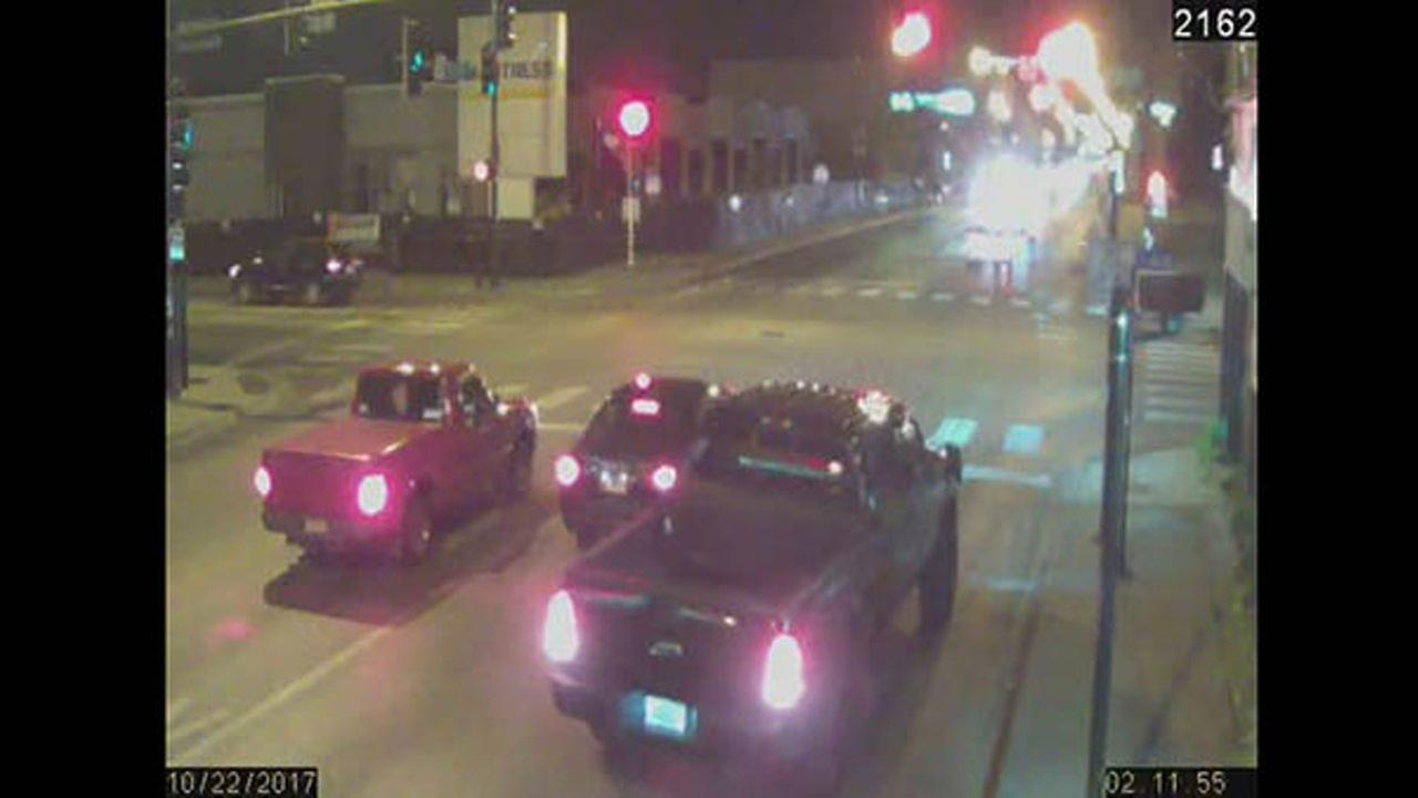 Chicago police released surveillance video Friday of a hit-and-run-driver who killed a young father Sunday morning in the Gage Park neighborhood.
