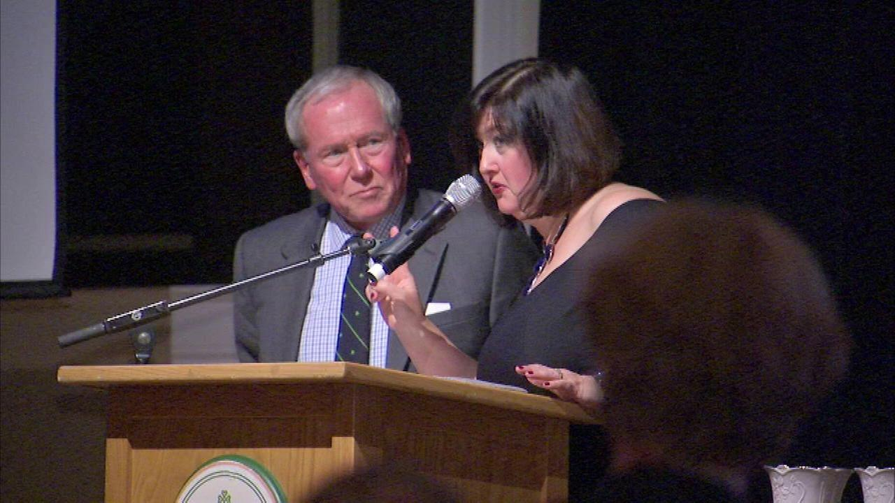 ABC 7s long-time friend and colleague Frank Mathie was honored on Friday.