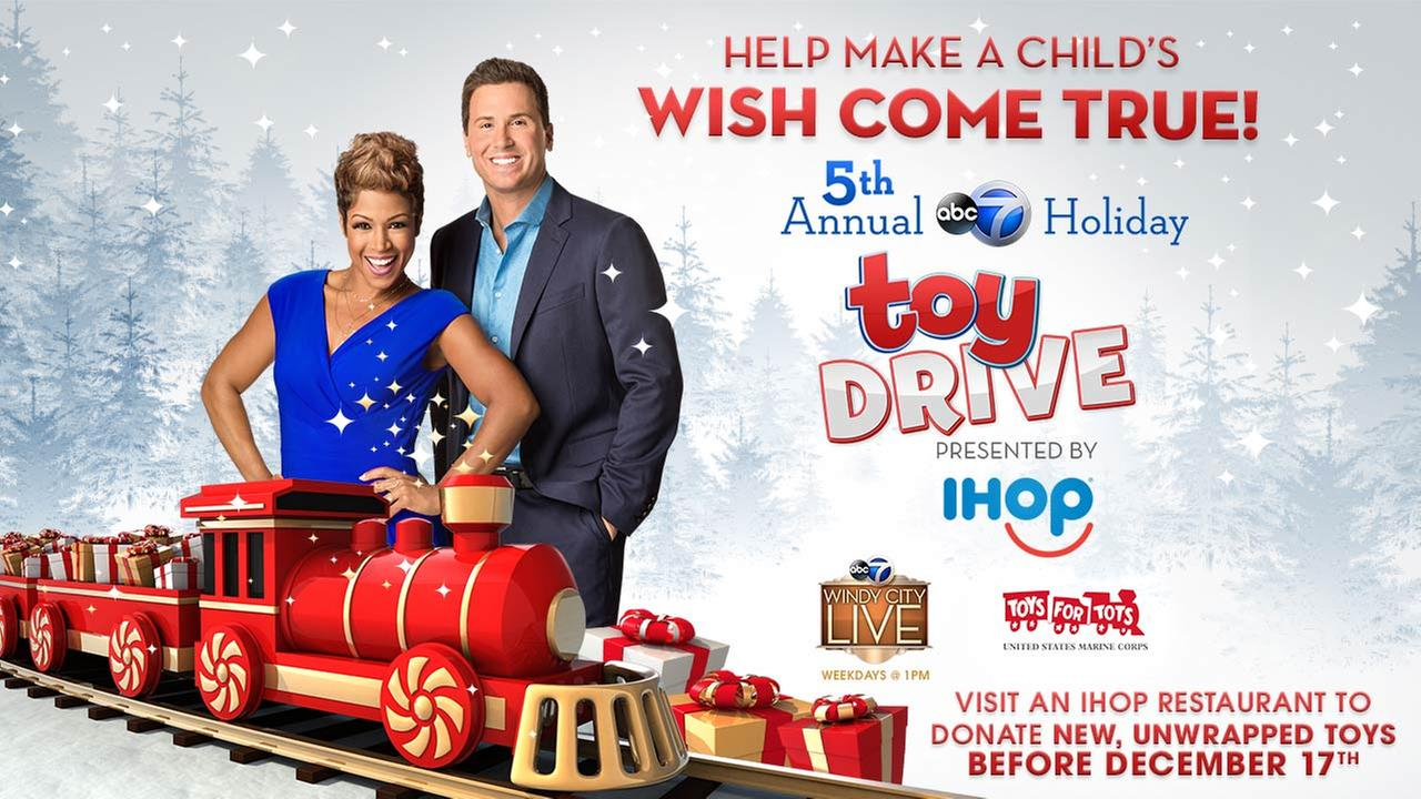 5th Annual ABC 7 Holiday Toy Drive Presented By IHOP