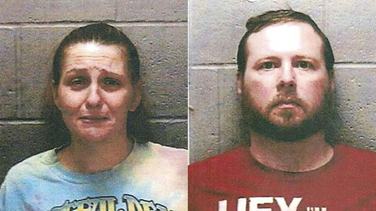Michael Roberts and his wife Georgena Roberts have been charged with first-degree murder in the starvation death of their 6-year-old boy, who authorities said weighed 17 pounds.