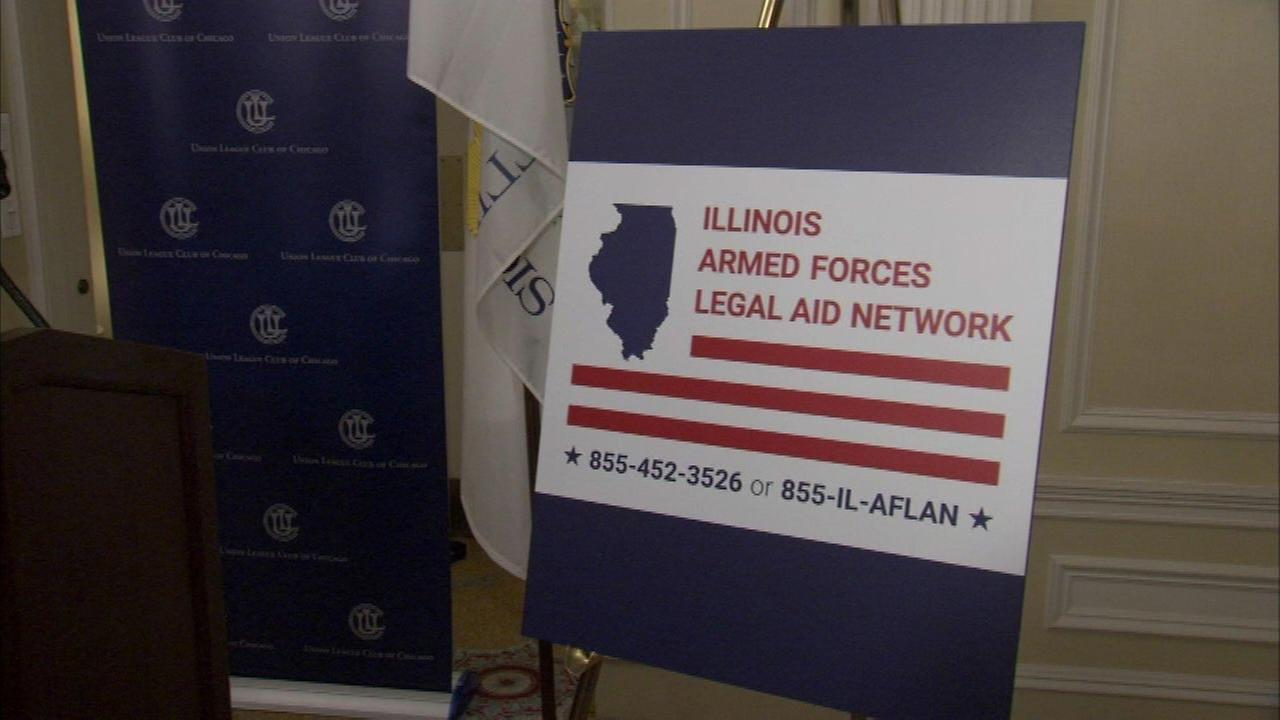 Free legal help available for Illinois veterans, military personnel