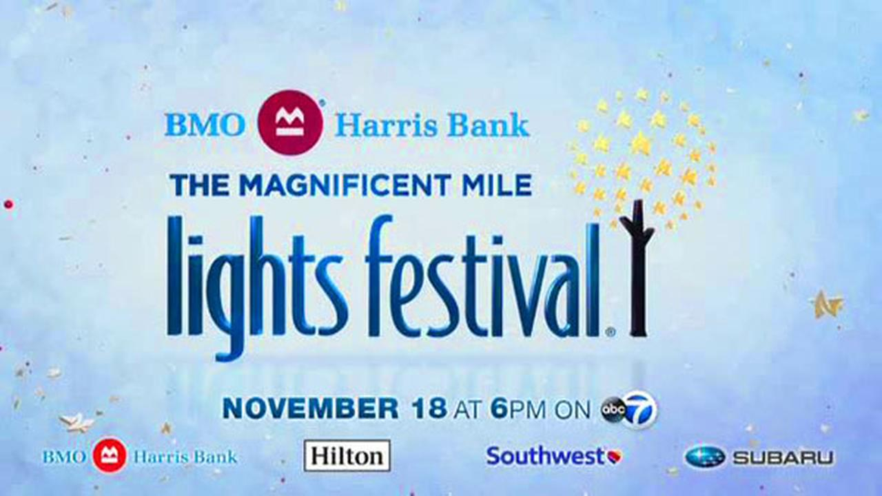 BMO Harris Bank Magnificent Mile Lights Festival