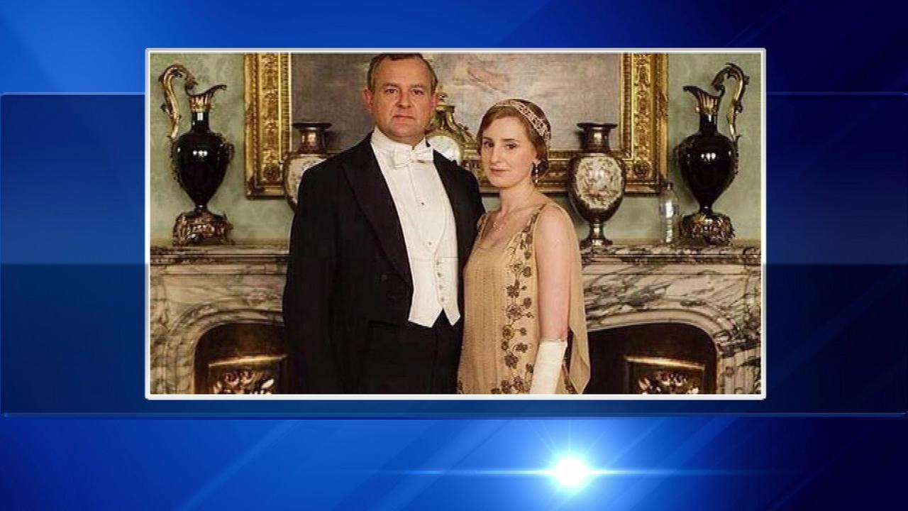 'Downton Abbey' photo features plastic water bottle