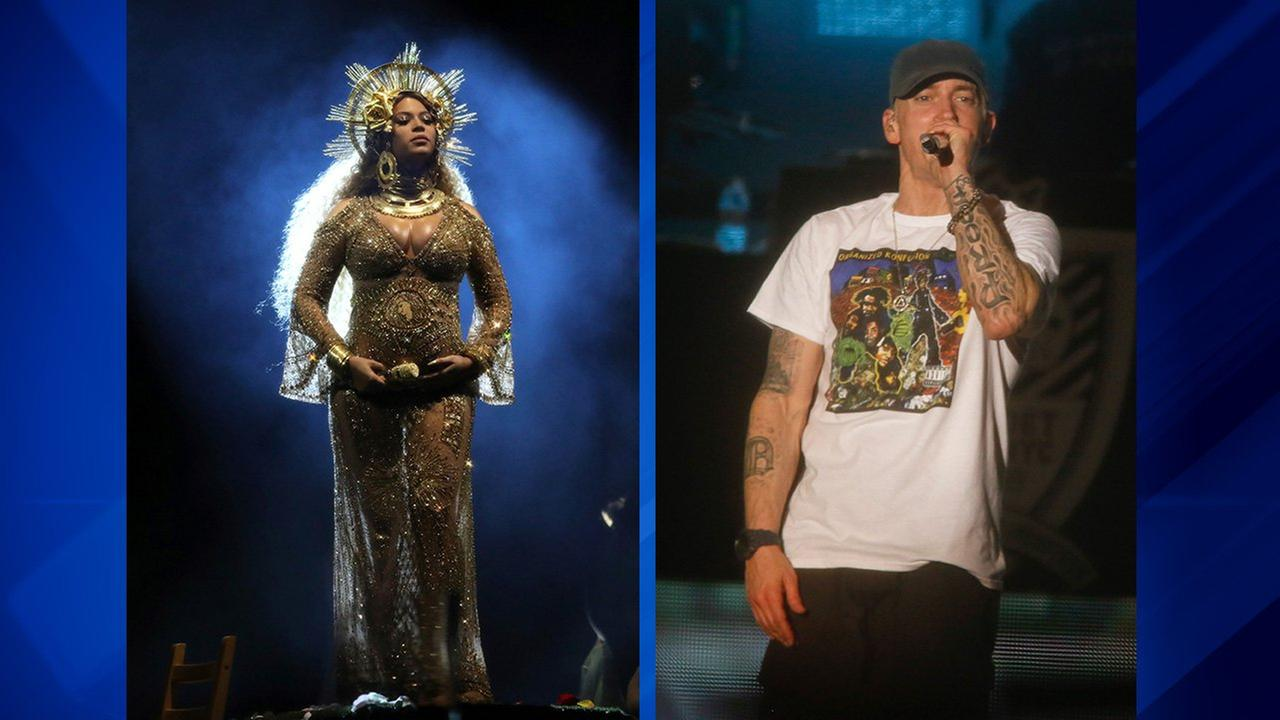 Eminem drops song with Beyonce