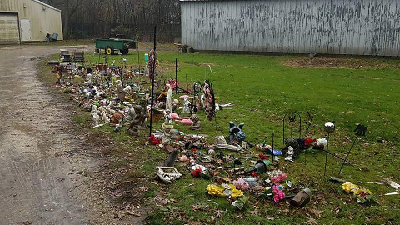 Families upset after gravesite items removed at Elmhurst Cemetery
