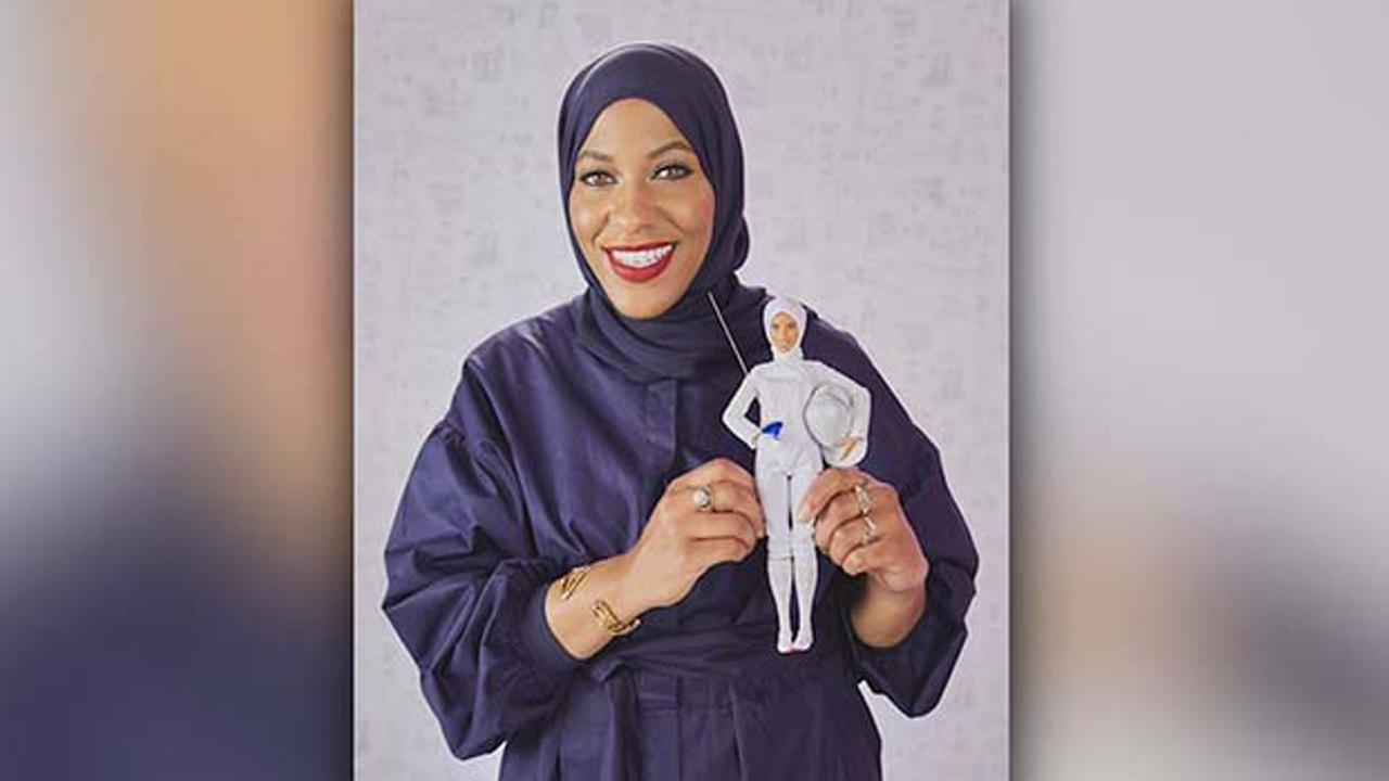 Mattel announced Monday that the latest Barbie in its Shero collection will be modeled after Olympic fencer Ibtihaj Muhammad.