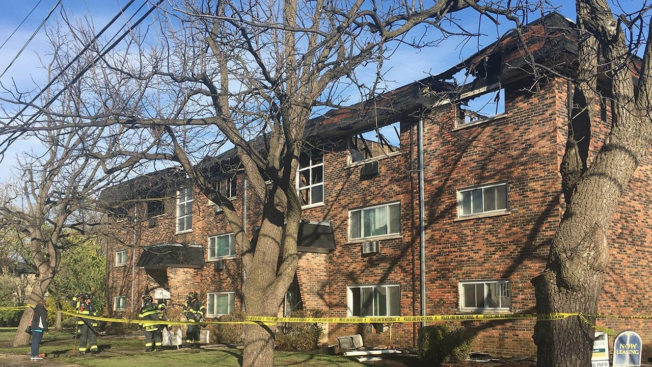 Man killed in Bensenville apartment fire identified; arson task force investigating