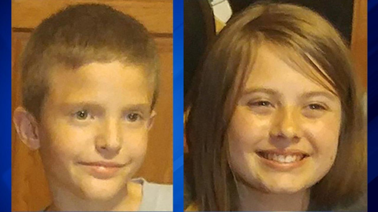 2 children, ages 10 and 13, missing from Lakeview