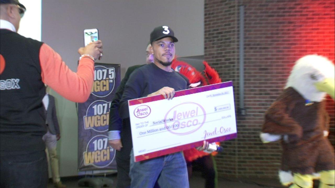 Jewel-Osco donates $1M to Chance the Rappers charity