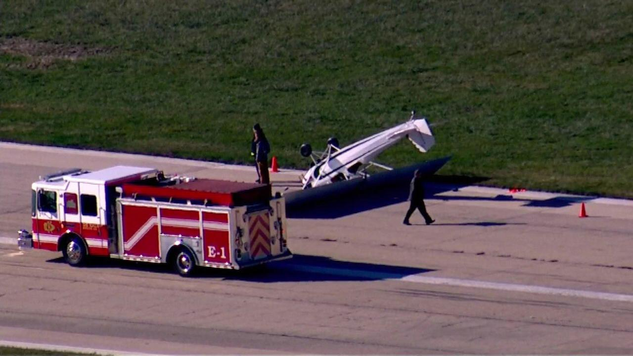 Fire crews respond to incident at DeKalb airport