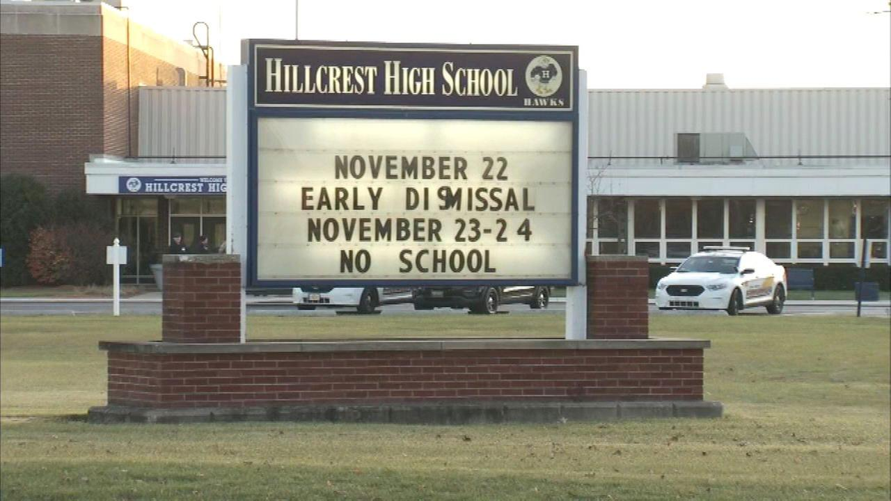 Facebook threat prompts extra security at Hillcrest HS