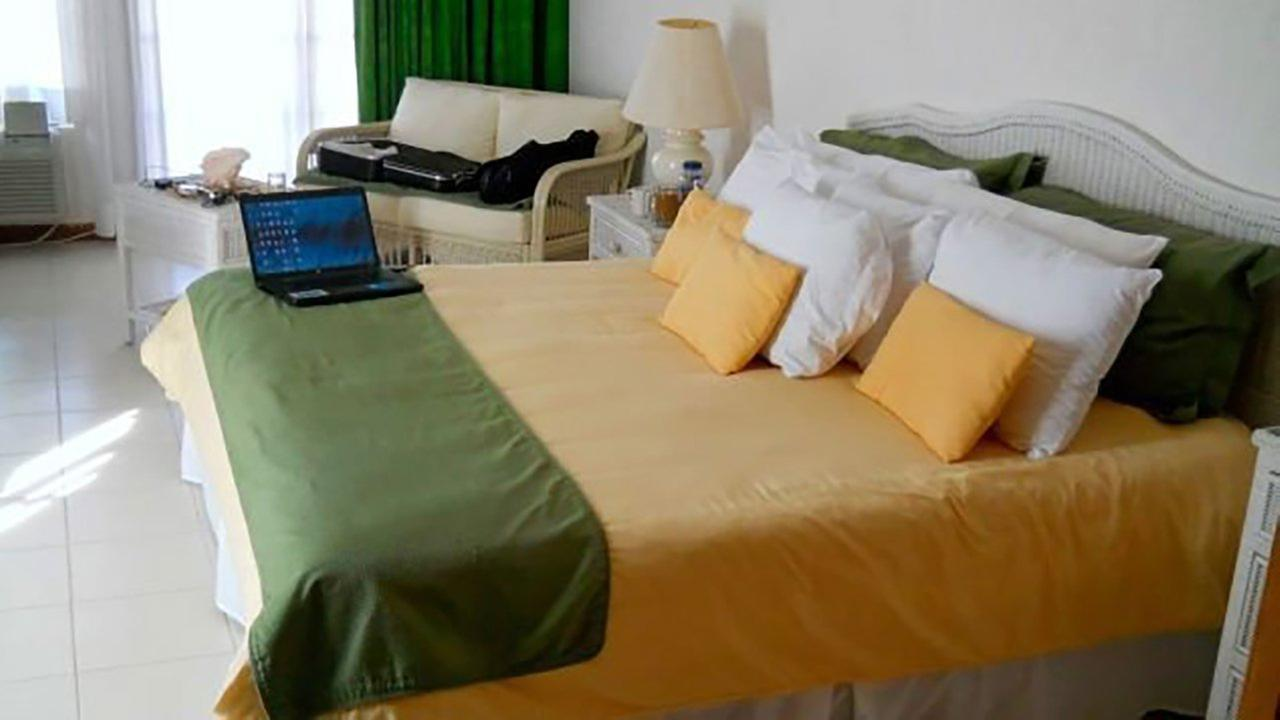 All beds at the The Resort are king-size and steel-reinforced, so guests dont have to worry about breaking them.