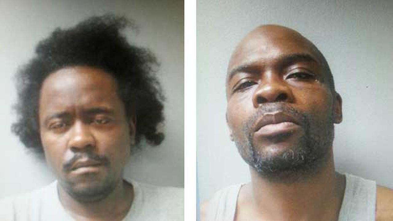 David Jordan, 40, of Dixmoor, and Peter Williams, 42, are accused of taking eight people hostage after a shootout with Harvey police.