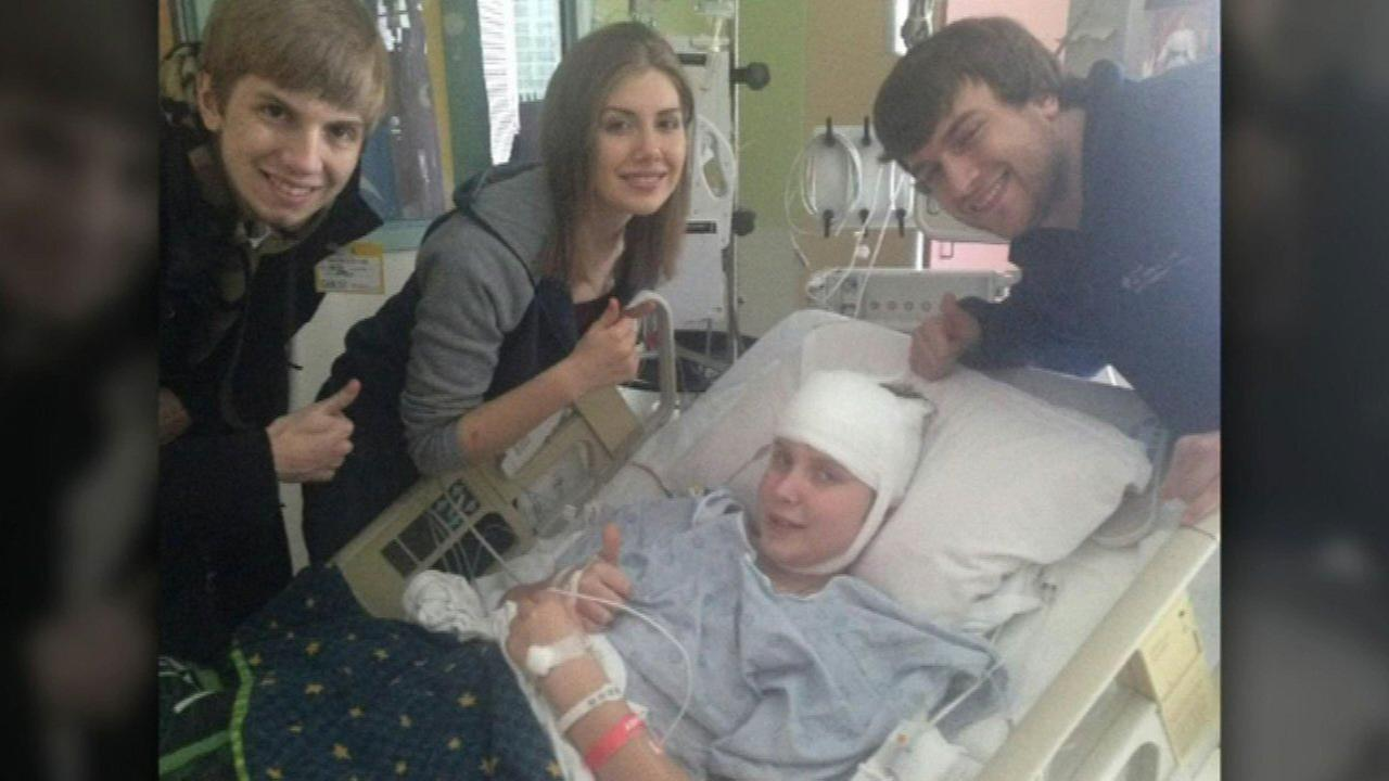 Nearly one year ago, Luke Vugrin was diagnosed with a small, benign tumor deep in his brain.