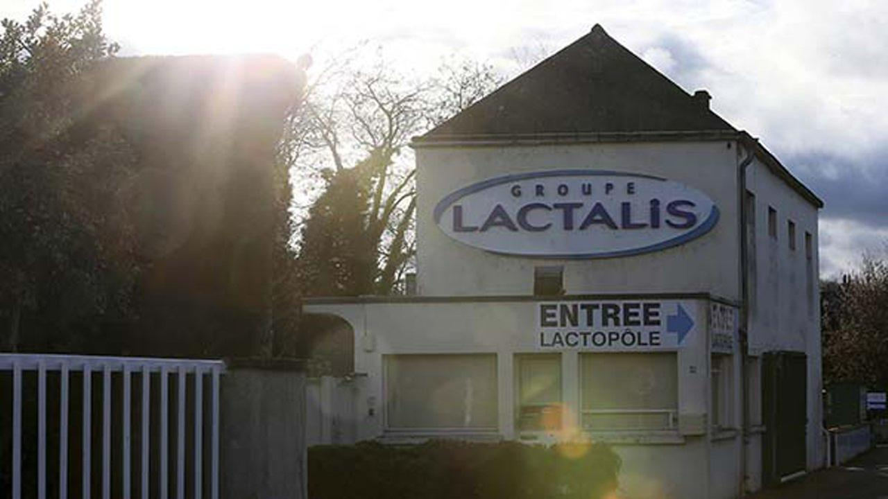 The Lactalis group original headquarters is pictured in Laval, western France, on Monday, Dec. 11, 2017.