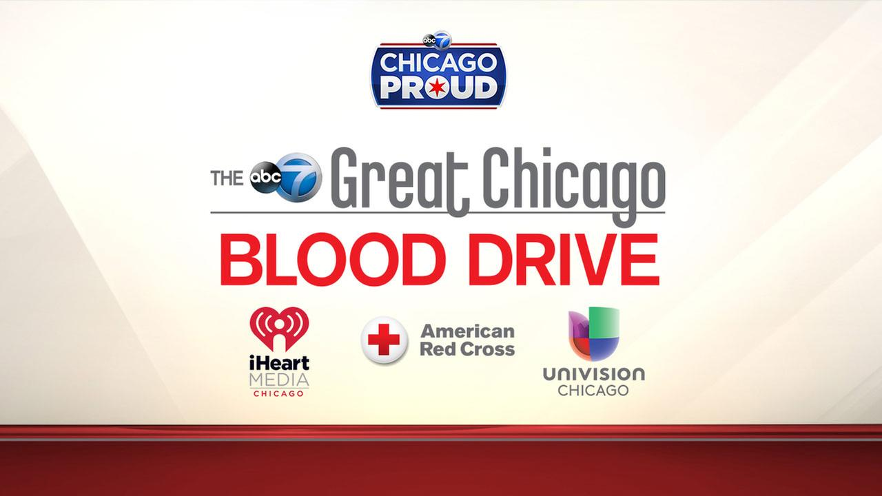 Abc7chicago abc7 wls chicago and chicago news the abc 7 great chicago blood drive sciox Image collections