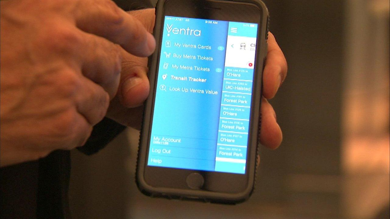 Metra tickets purchased on Ventra app must be transferred to new phones