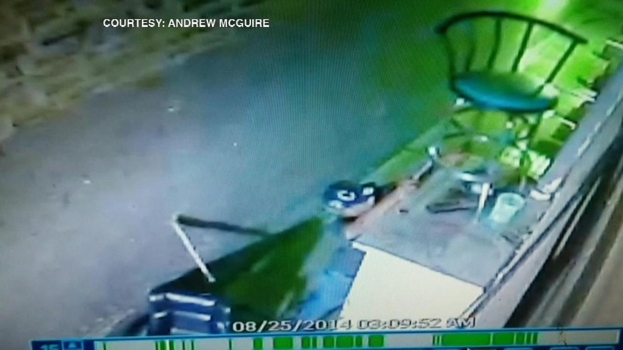 A brazen burglary was caught on video at the La Gondola restaurant in Lakeview.