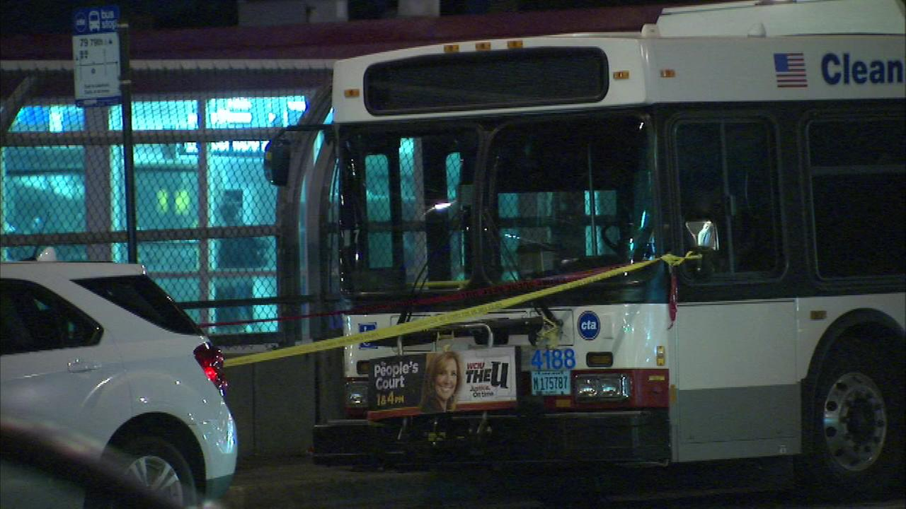 A man was stabbed on a CTA bus in the 7900-block of South State Street.