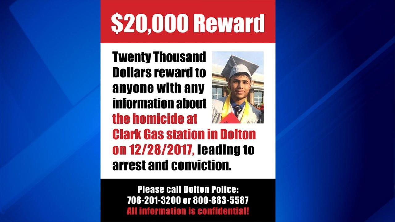 Reward increased to $20K in Dolton fatal shooting