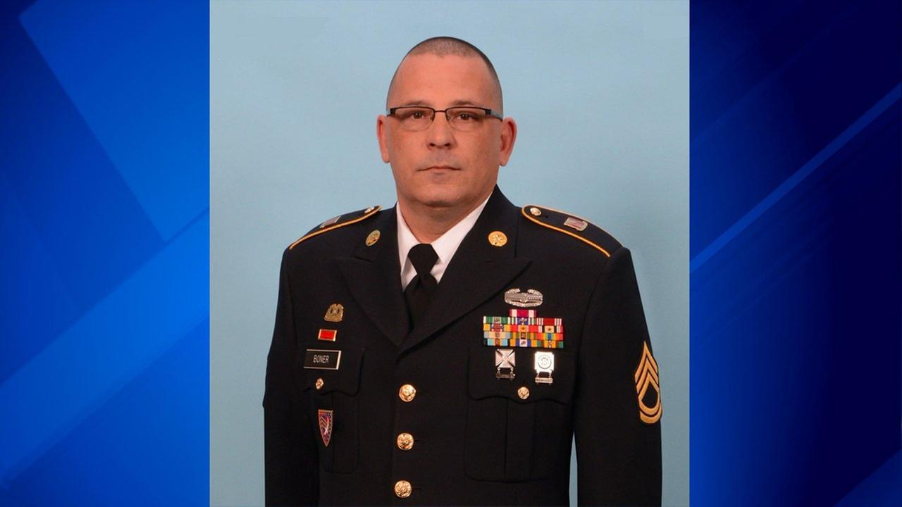 Sgt. 1st Class Mark Boner, of Fort Wayne, Ind.