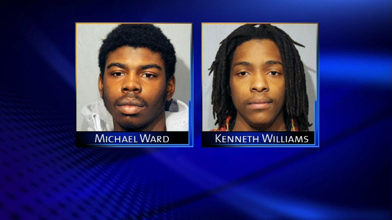 Michael Ward and Kenneth Williams, two men charged in the 2013 killing of 15-year-old Hadiya Pendleton.