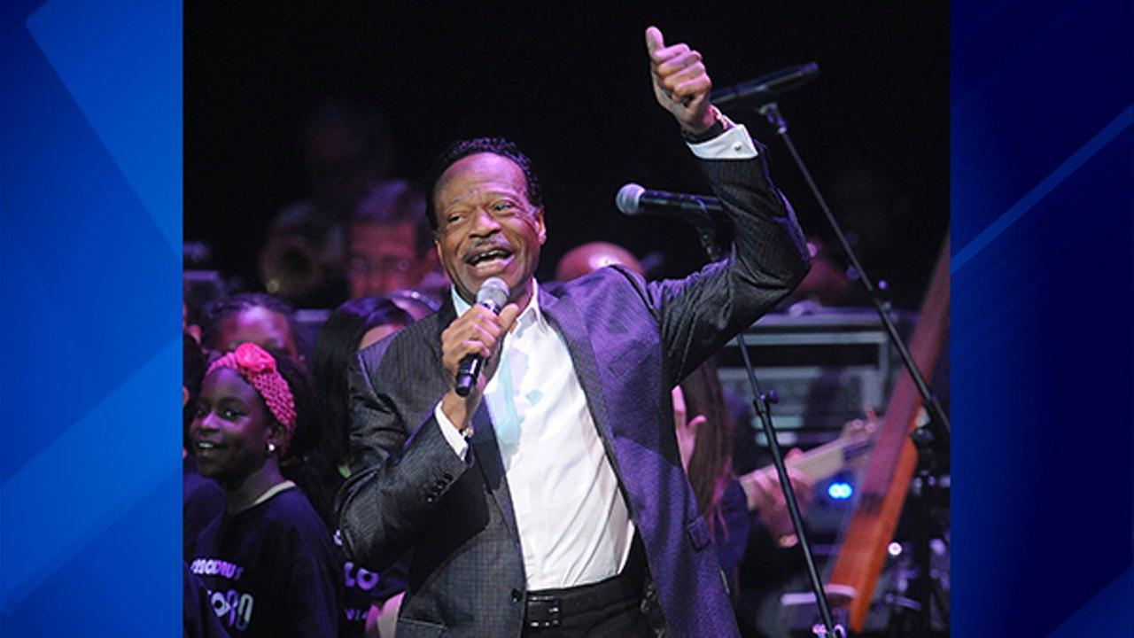 In this June 10, 2014 file photo, Edwin Hawkins appears at the Apollo Theater Spring Gala and 80th Anniversary Celebration in New York.