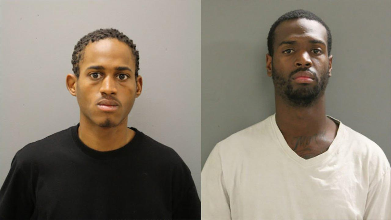 Dionte Vaughns (left) and Donzel Jenkins (right)