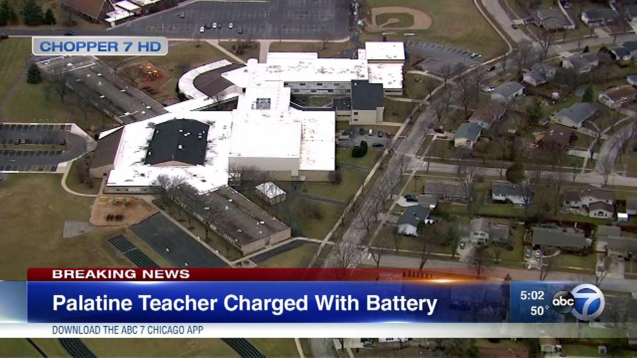Palatine teacher charged after alleged altercation over student's earbuds