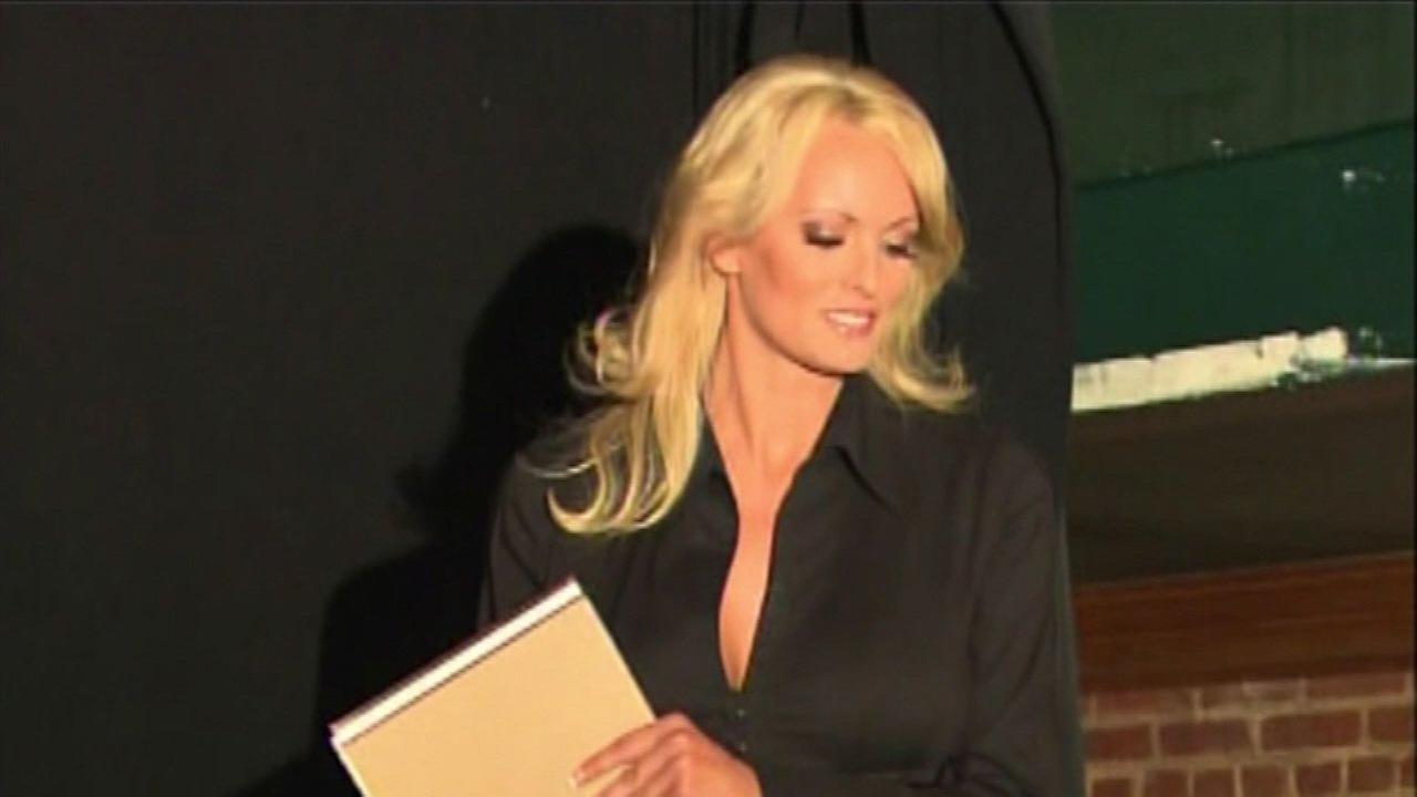 Stormy Daniels sues President Trump over alleged affair and 'hush' agreement
