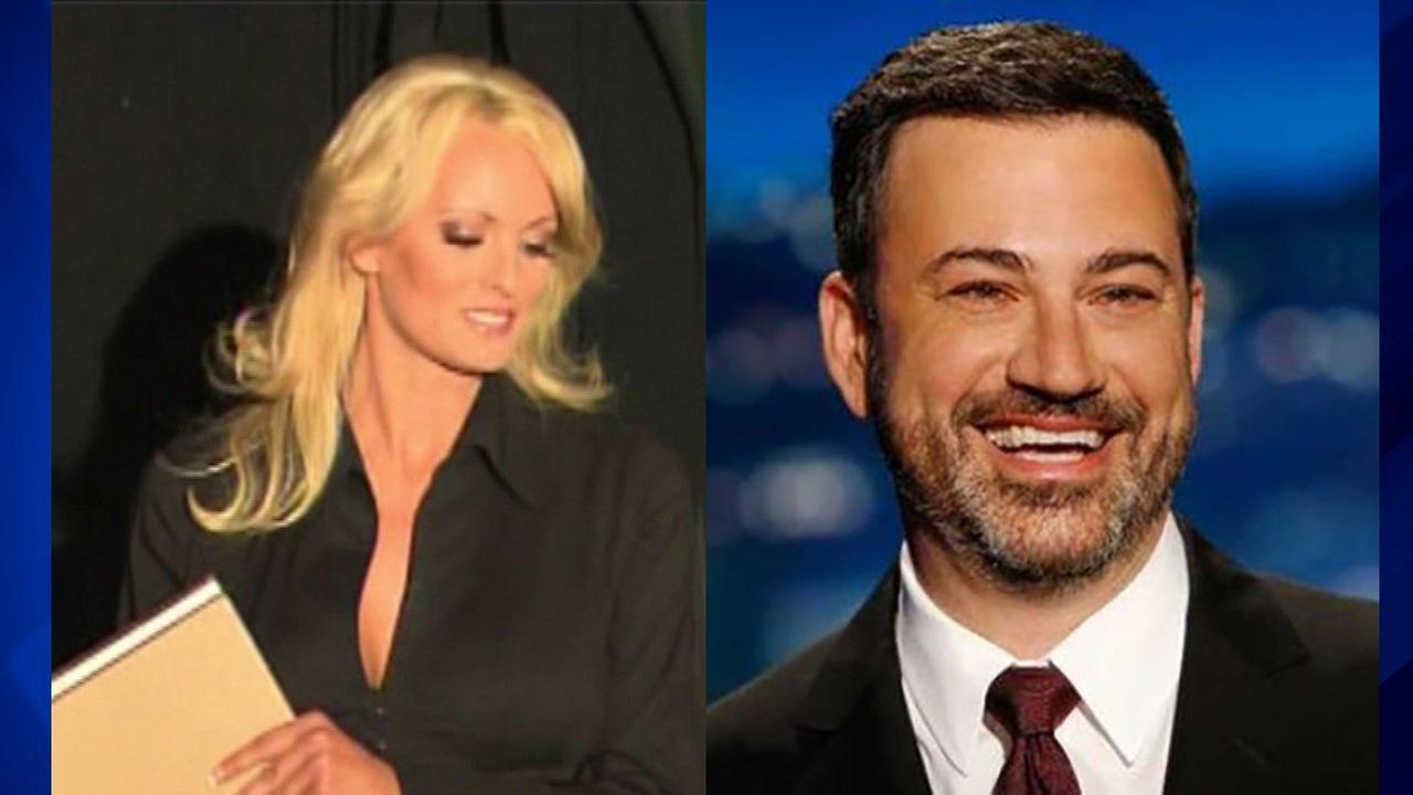 Stormy Daniels to appear on Jimmy Kimmels show on night of Trump speech